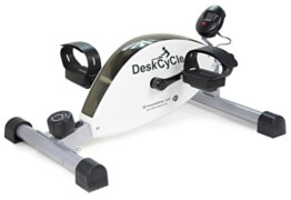 Pedaltrainer für unter den Schreibtisch von Desk Cycle