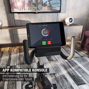 Sportstech Liegeergometer mit App Steuerung