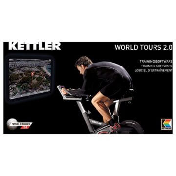 Kettler Trainingssoftware World Tours 2.0""