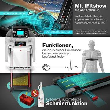 Sportstech F37 Profi Laufband 7PS bis 20 km/h